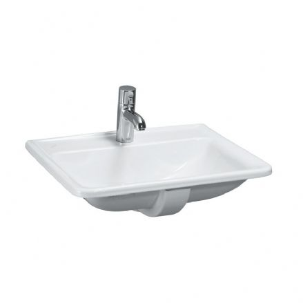 813961 - Laufen Pro 560mm x 440mm Drop-in Washbasin - 8.1396.1